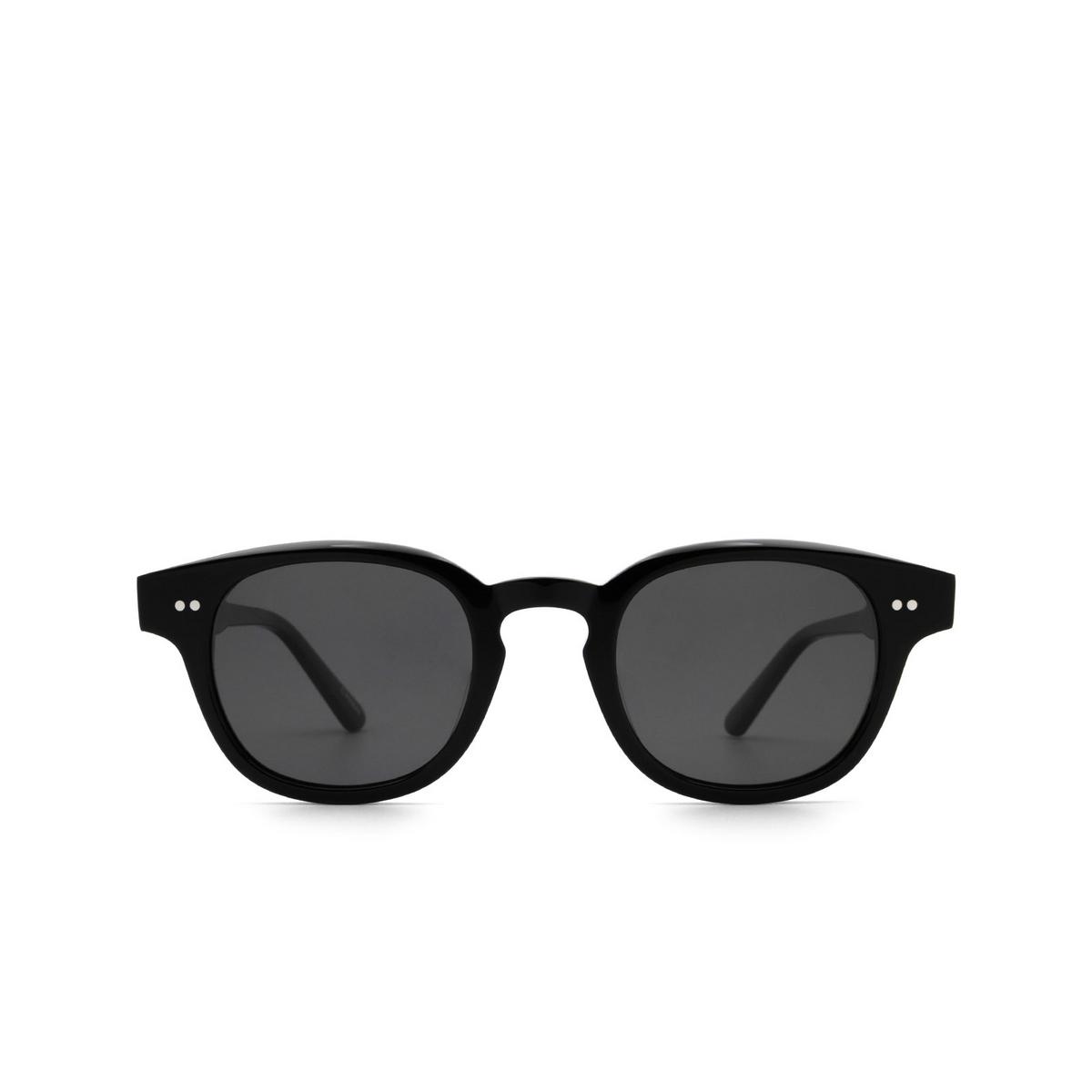 Chimi® Square Sunglasses: 01 color Black - front view.