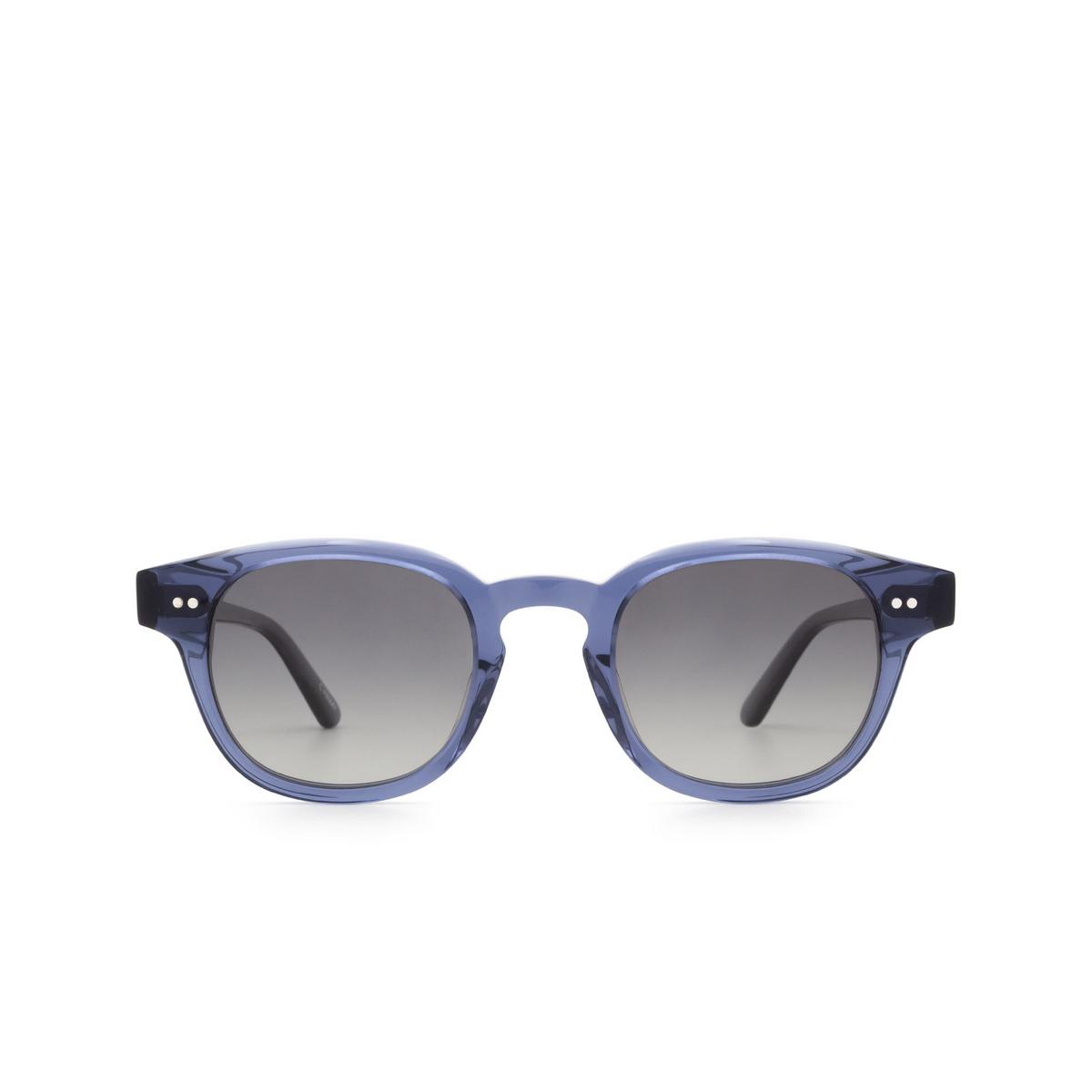 Chimi® Square Sunglasses: 01 color Blue - front view.