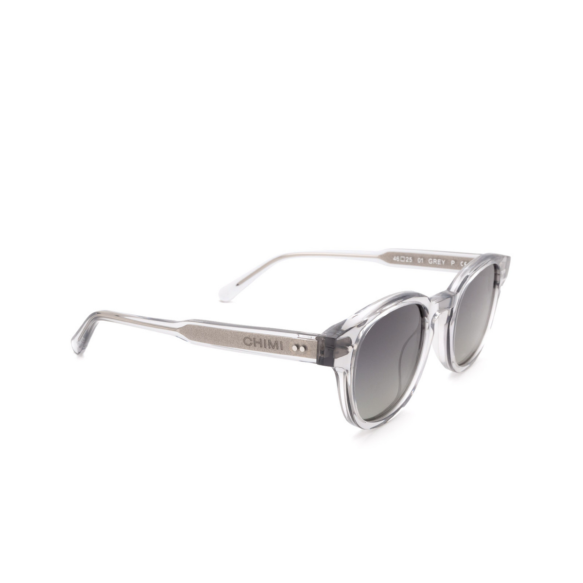 Chimi® Square Sunglasses: 01 color Grey.