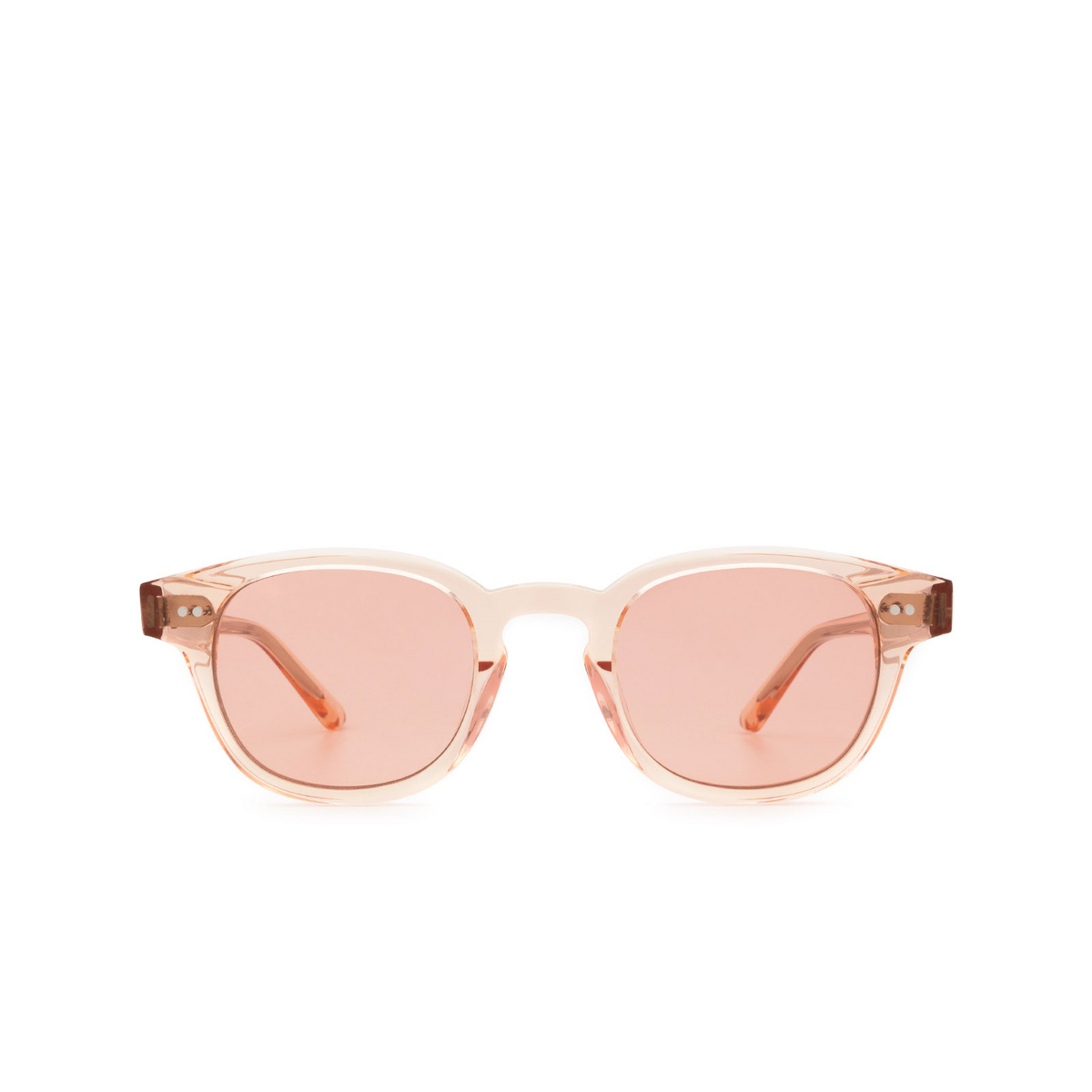 Chimi® Square Sunglasses: 01 color Pink - front view.