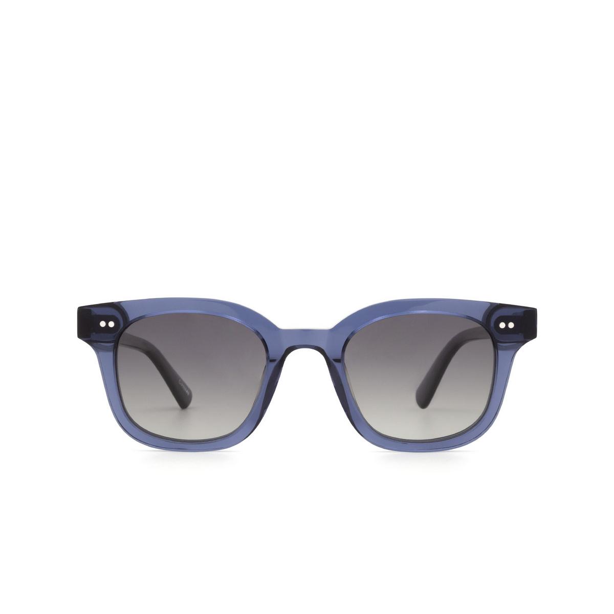 Chimi® Square Sunglasses: 02 color Blue - front view.