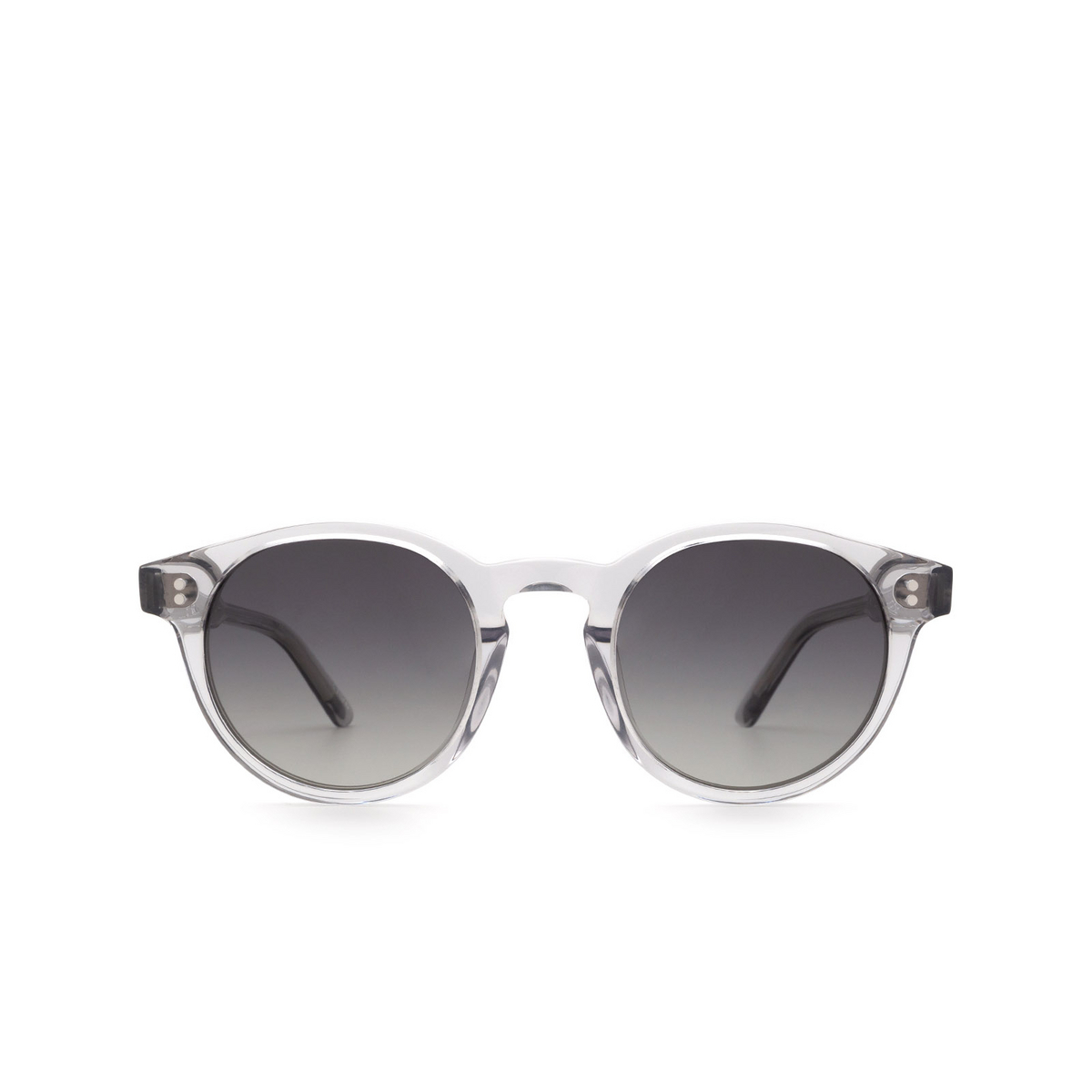 Chimi® Round Sunglasses: 03 color Grey - front view.
