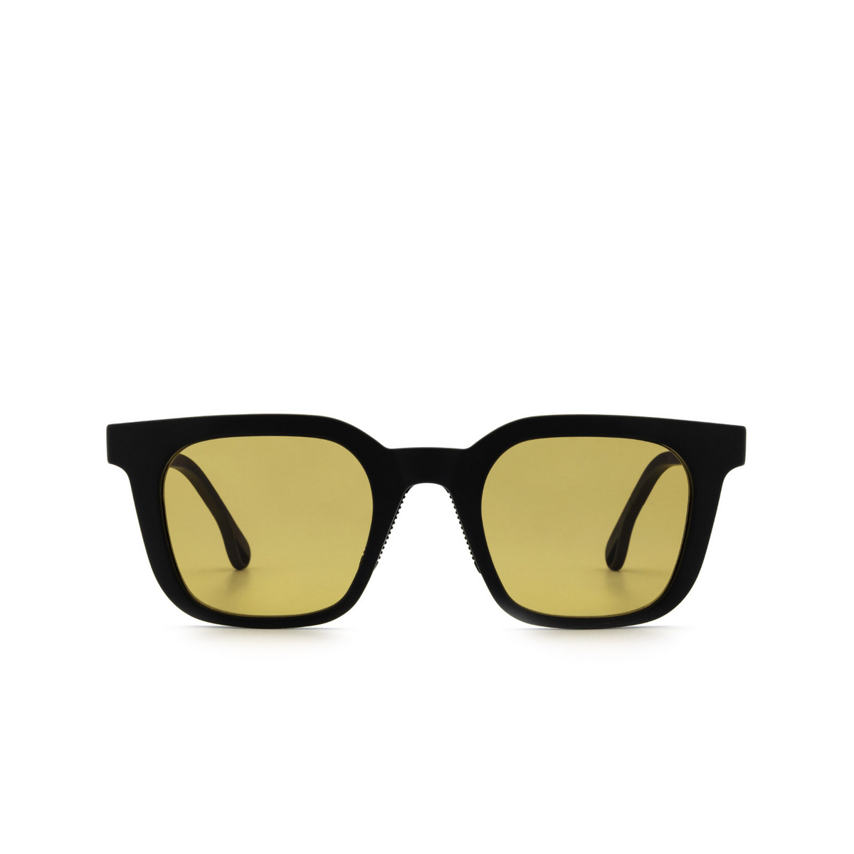 Chimi® Square Sunglasses: 04 ACTIVE color Black - front view.