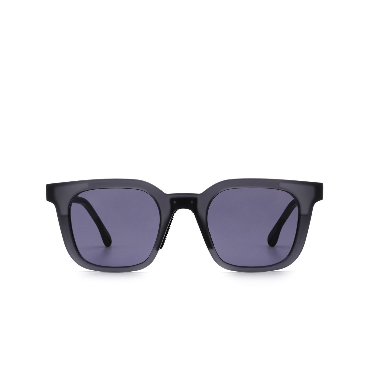 Chimi® Square Sunglasses: 04 ACTIVE color Grey - front view.