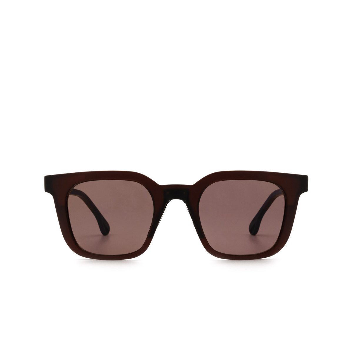 Chimi® Square Sunglasses: 04 ACTIVE color Red - front view.