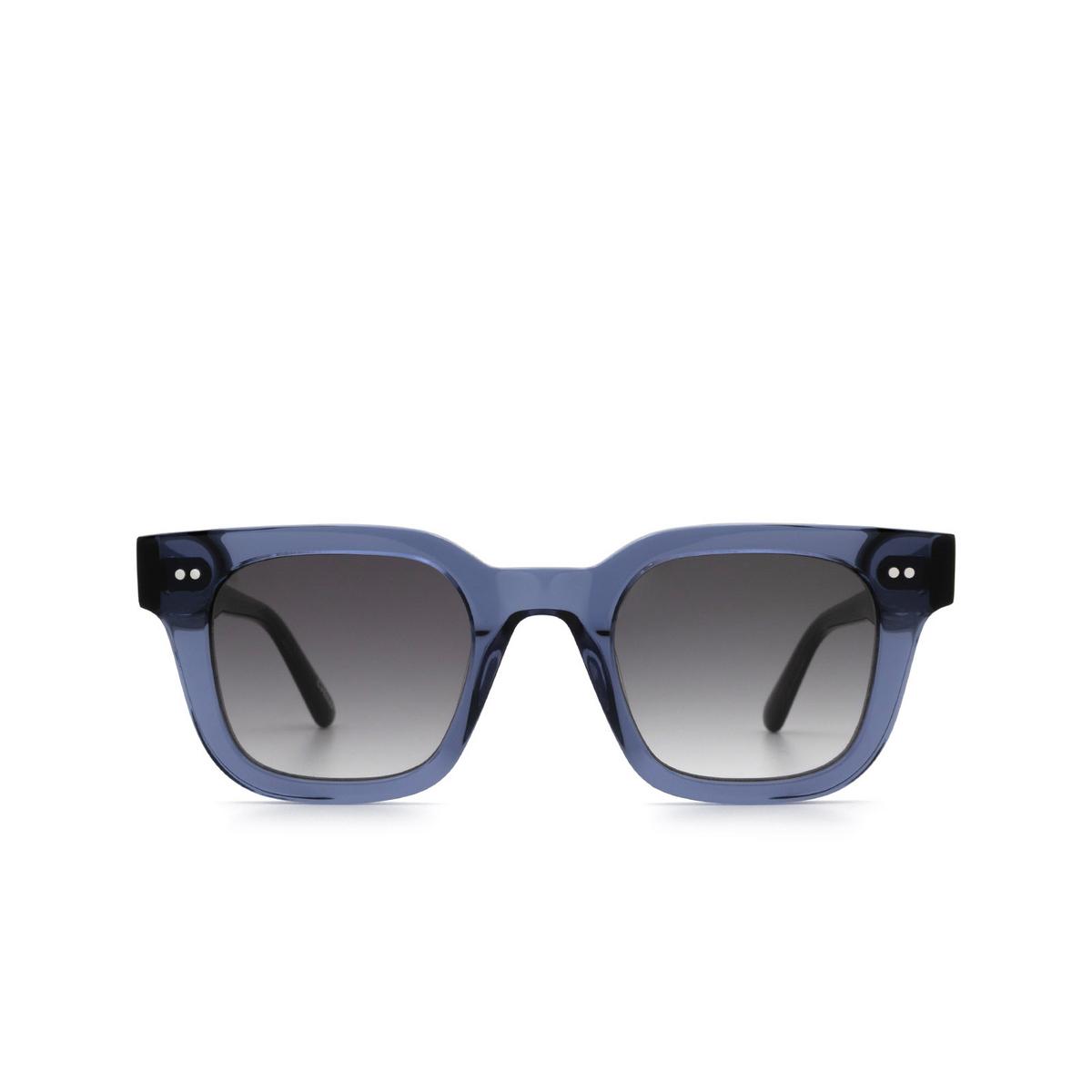 Chimi® Square Sunglasses: 04 color Blue - front view.