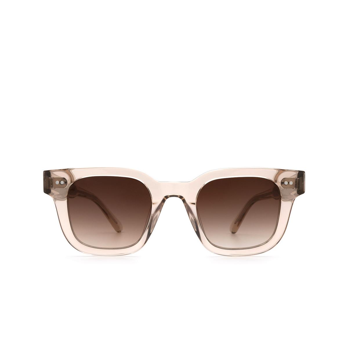 Chimi® Square Sunglasses: 04 color Ecru - front view.