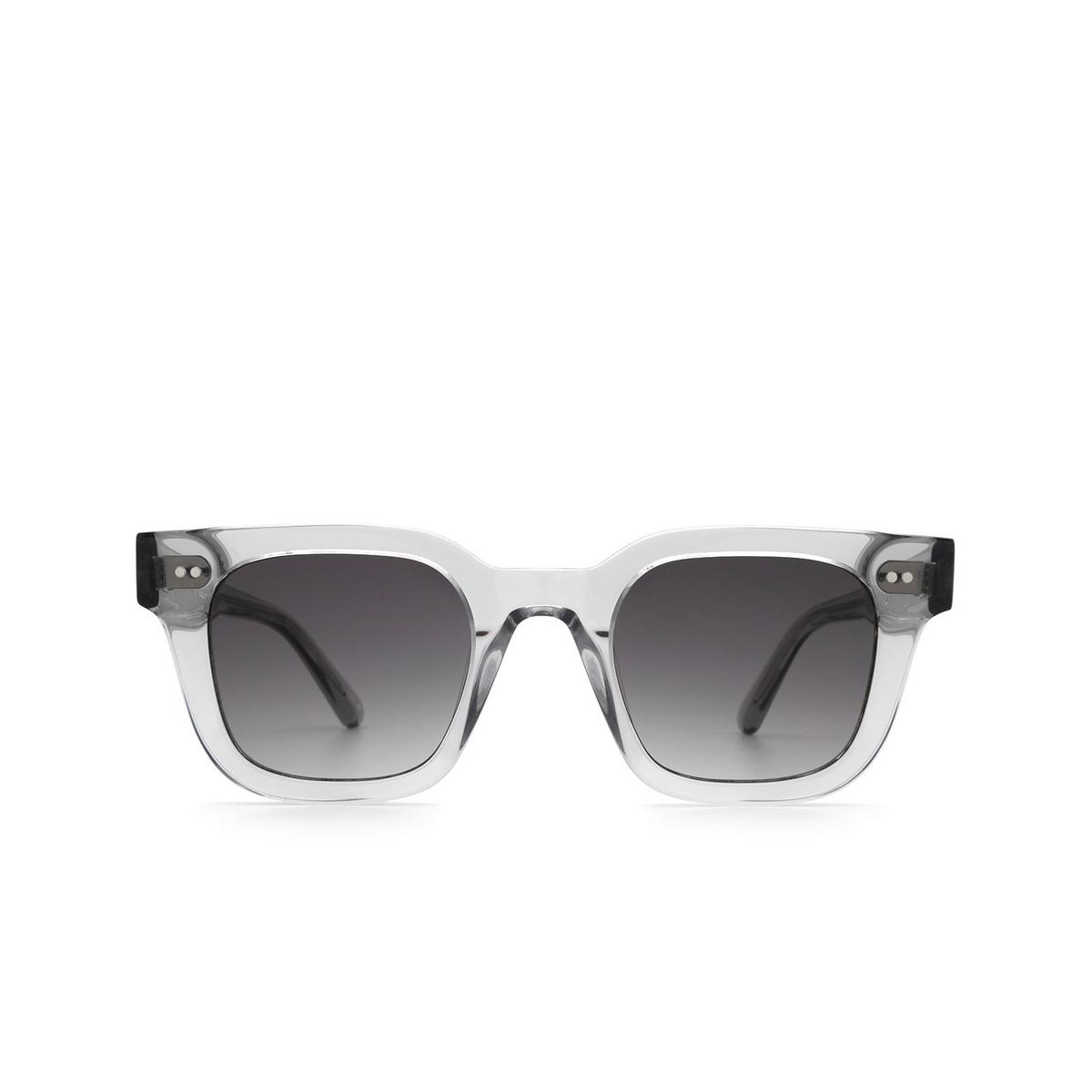 Chimi® Square Sunglasses: 04 color Grey - front view.