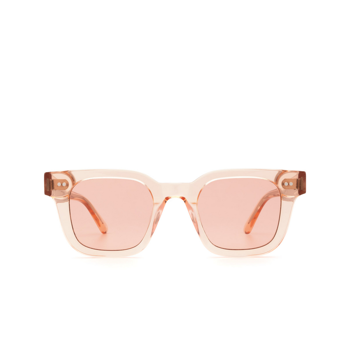 Chimi® Square Sunglasses: 04 color Pink - front view.