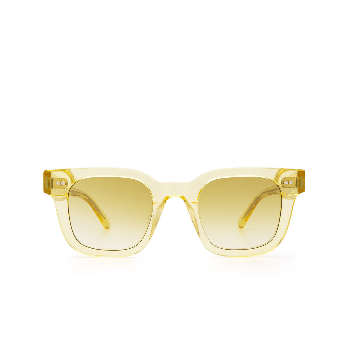 Chimi® Square Sunglasses: 04 color Yellow - front view.