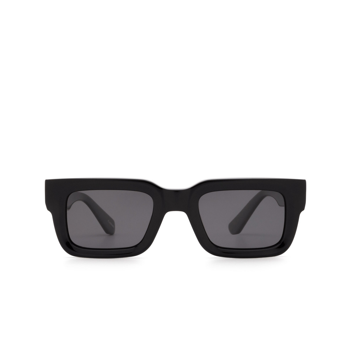 Chimi® Rectangle Sunglasses: 05 color Black - front view.