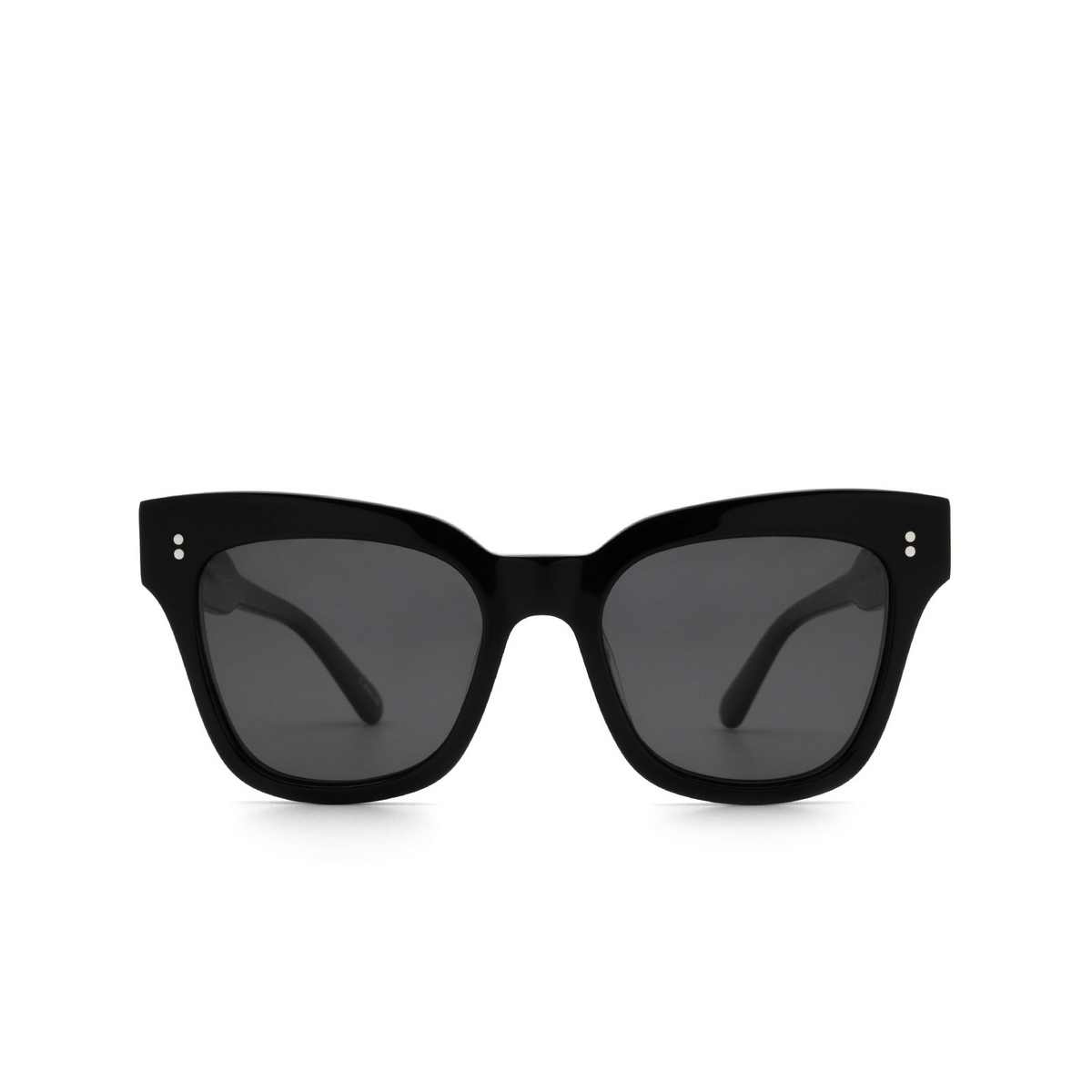 Chimi® Butterfly Sunglasses: 07 color Black - front view.