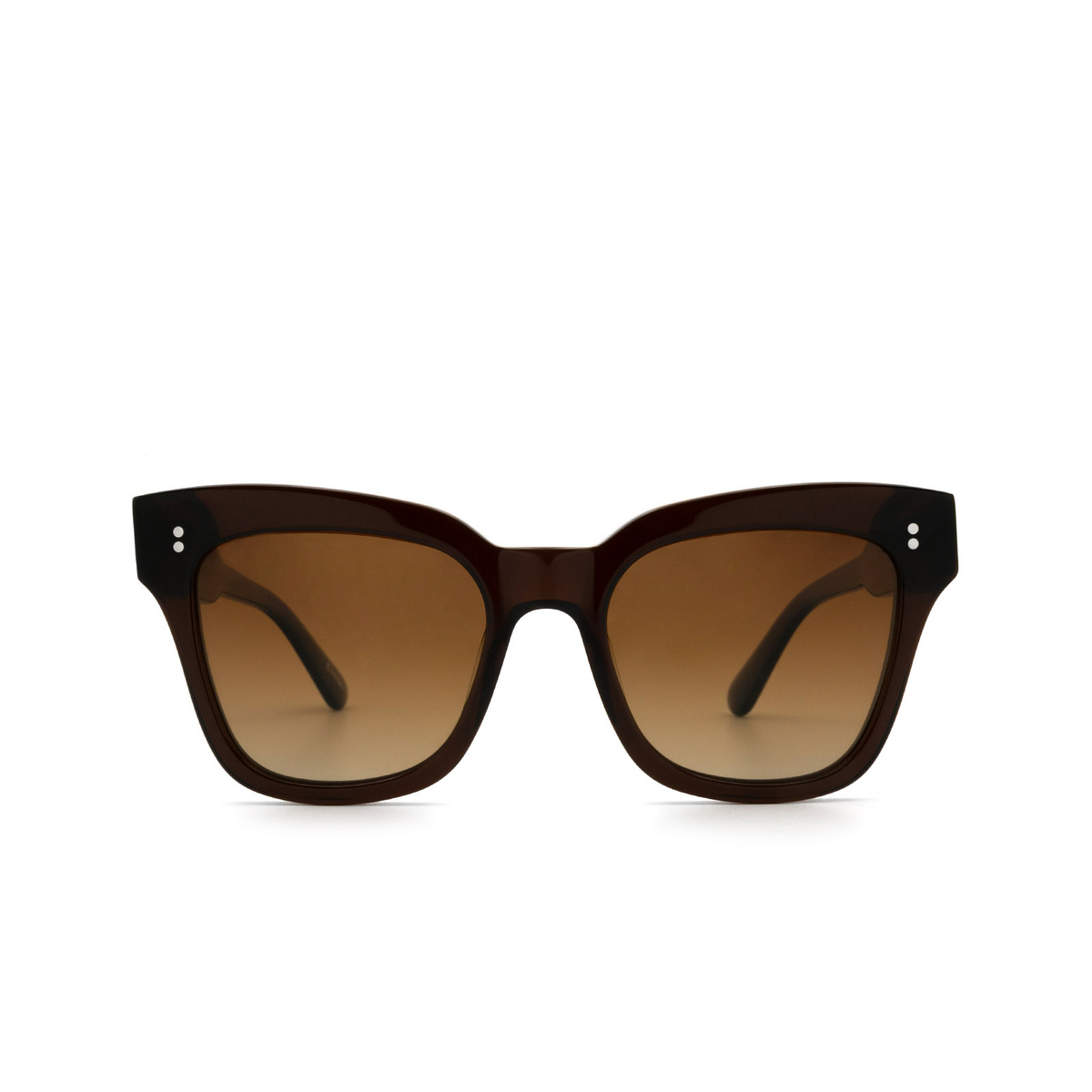 Chimi® Butterfly Sunglasses: 07 color Brown - front view.