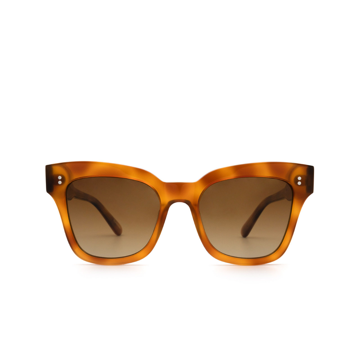 Chimi® Butterfly Sunglasses: 07 color Havana - front view.