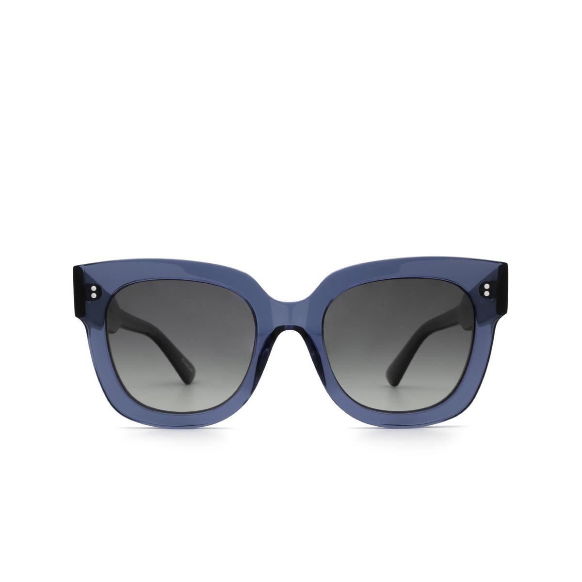 Chimi® Square Sunglasses: 08 color Blue - front view.