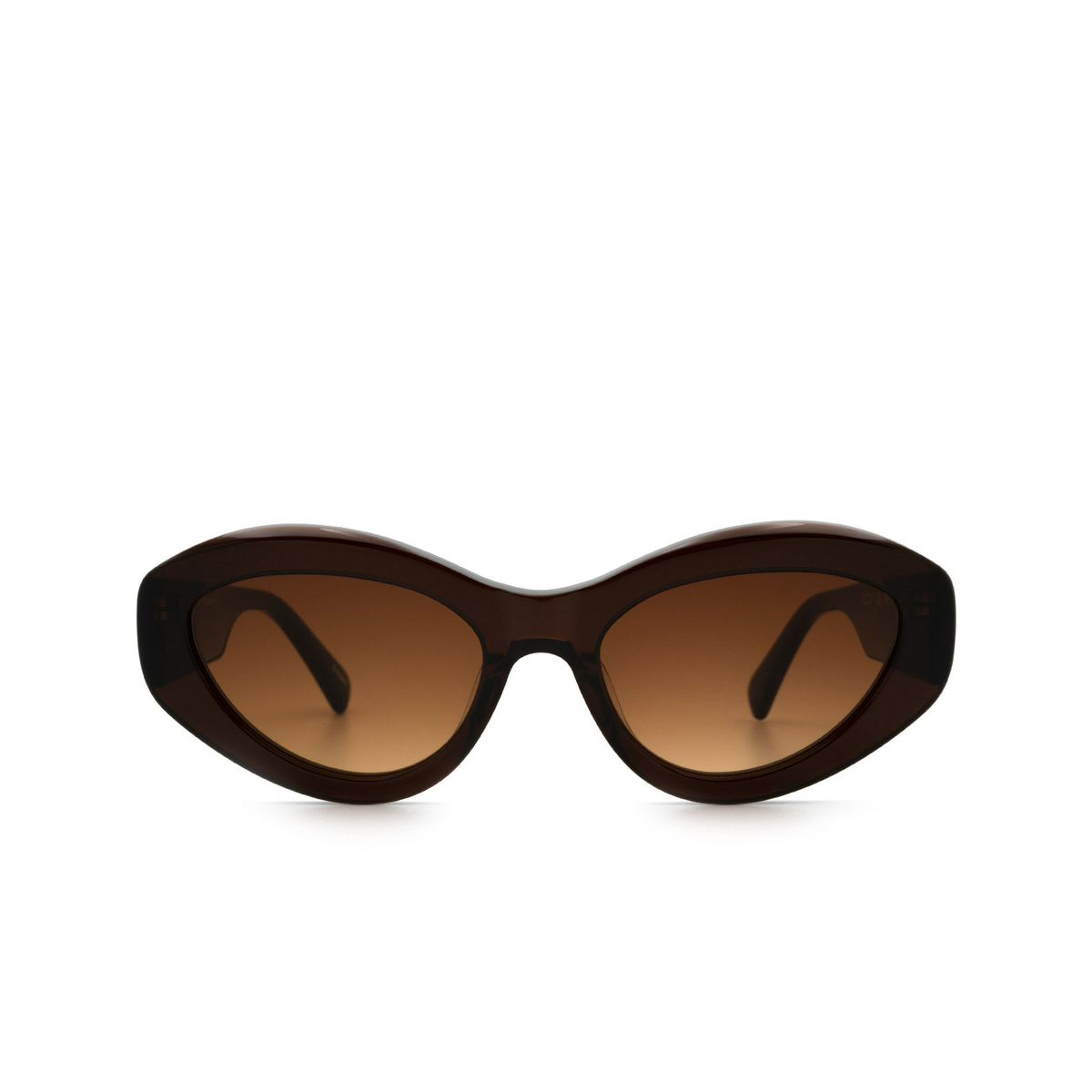 Chimi® Cat-eye Sunglasses: 09 color Brown.