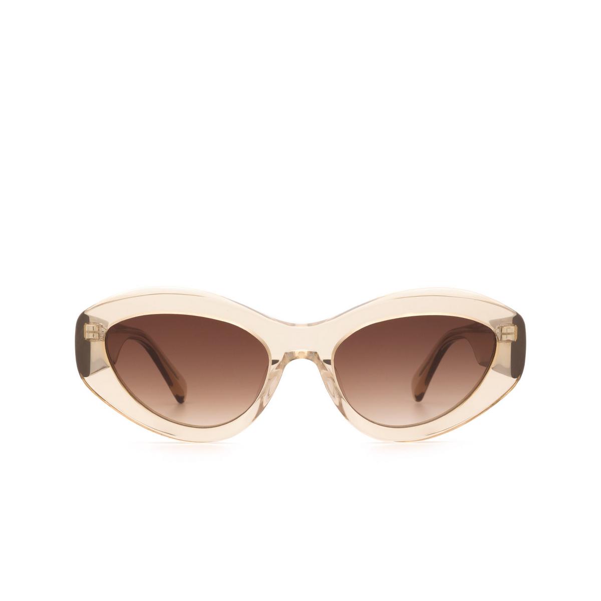 Chimi® Cat-eye Sunglasses: 09 color Ecru.
