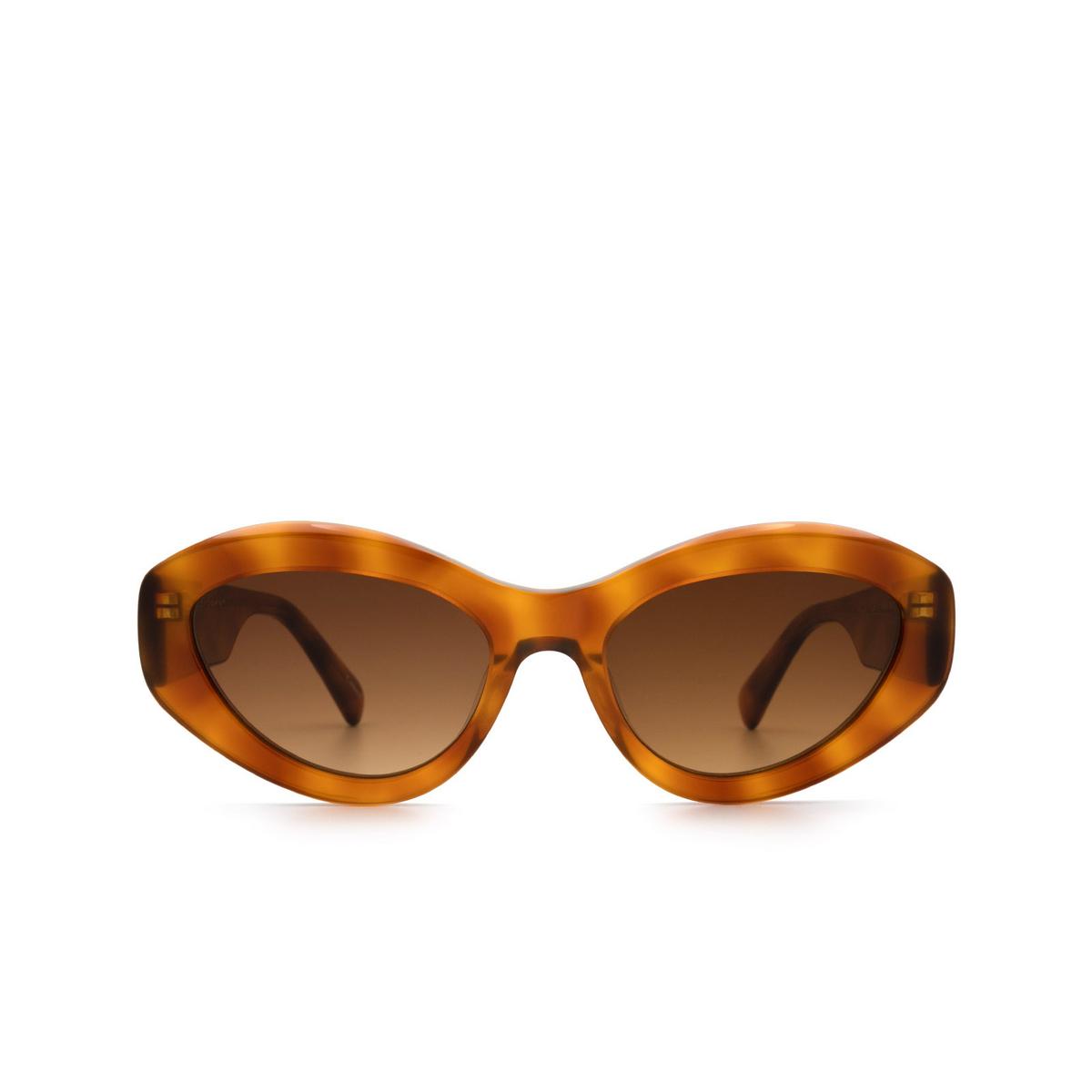 Chimi® Cat-eye Sunglasses: 09 color Havana.
