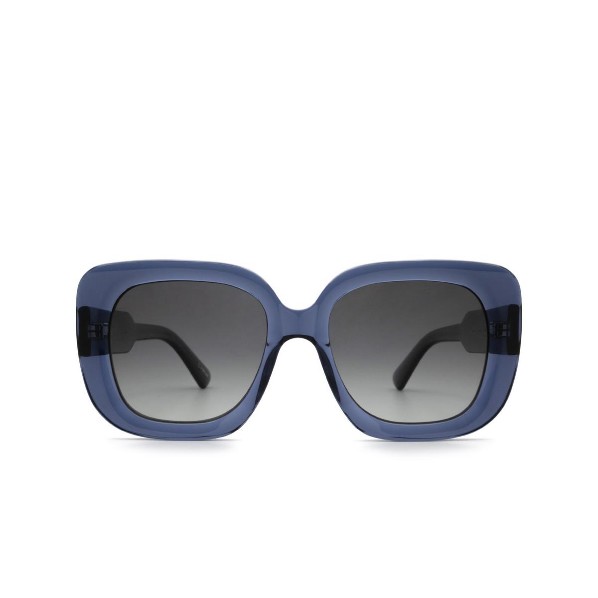 Chimi® Square Sunglasses: 10 color Blue - front view.
