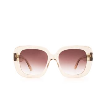 Chimi® Square Sunglasses: #108 color Light Beige Ecru.