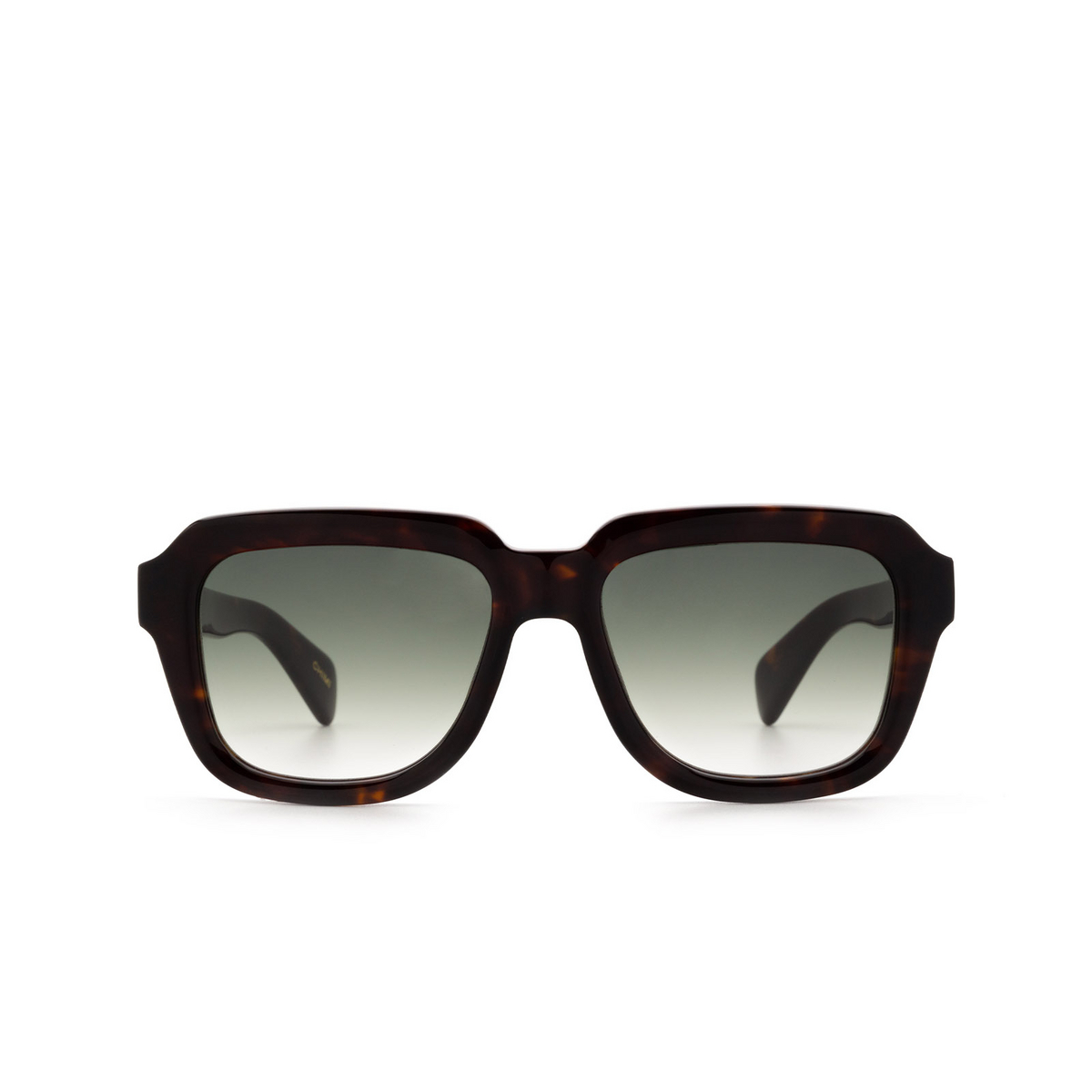 Chimi® Square Sunglasses: Voyage Navigator color Onyx - front view.