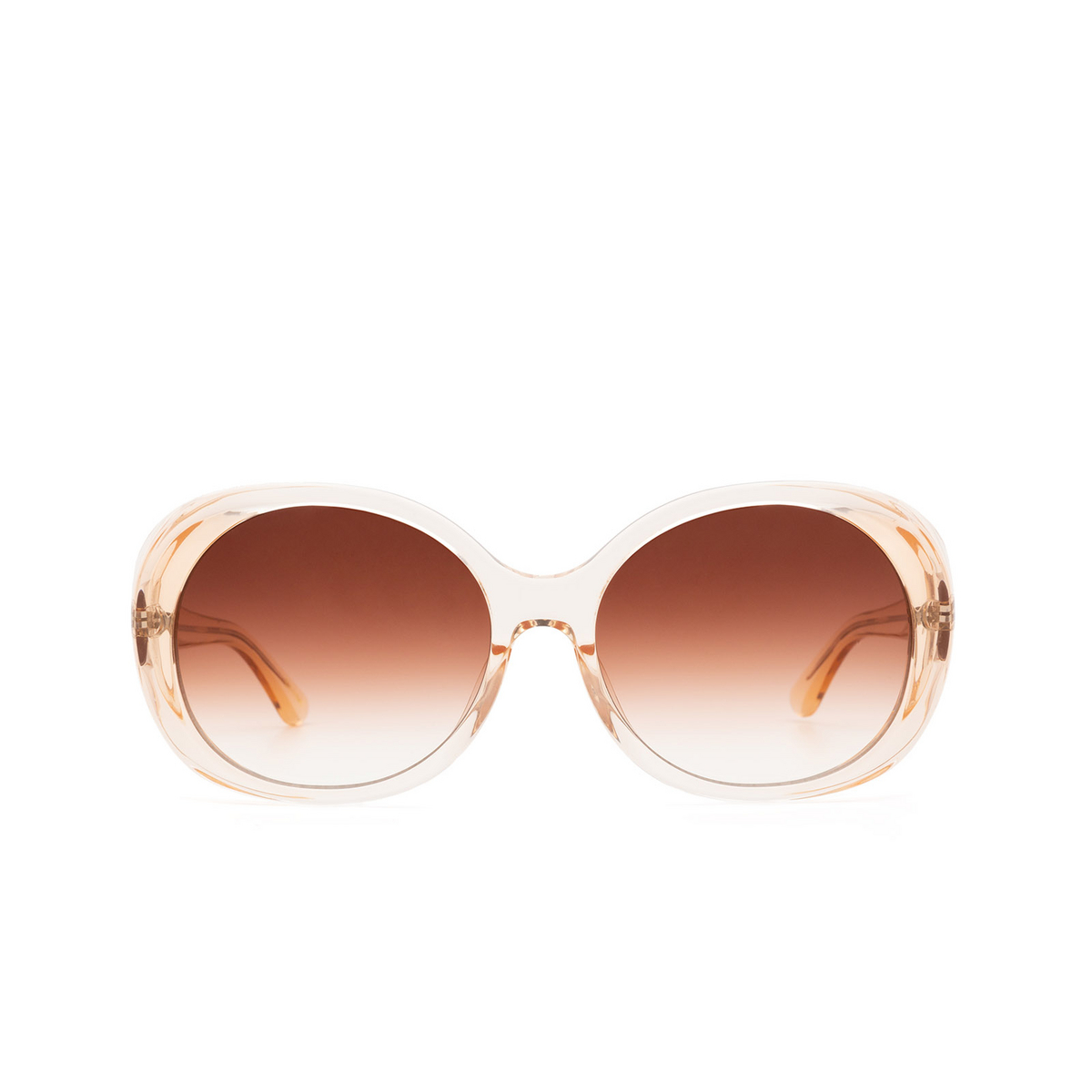 Chimi® Butterfly Sunglasses: Voyage Round color Fawn - front view.