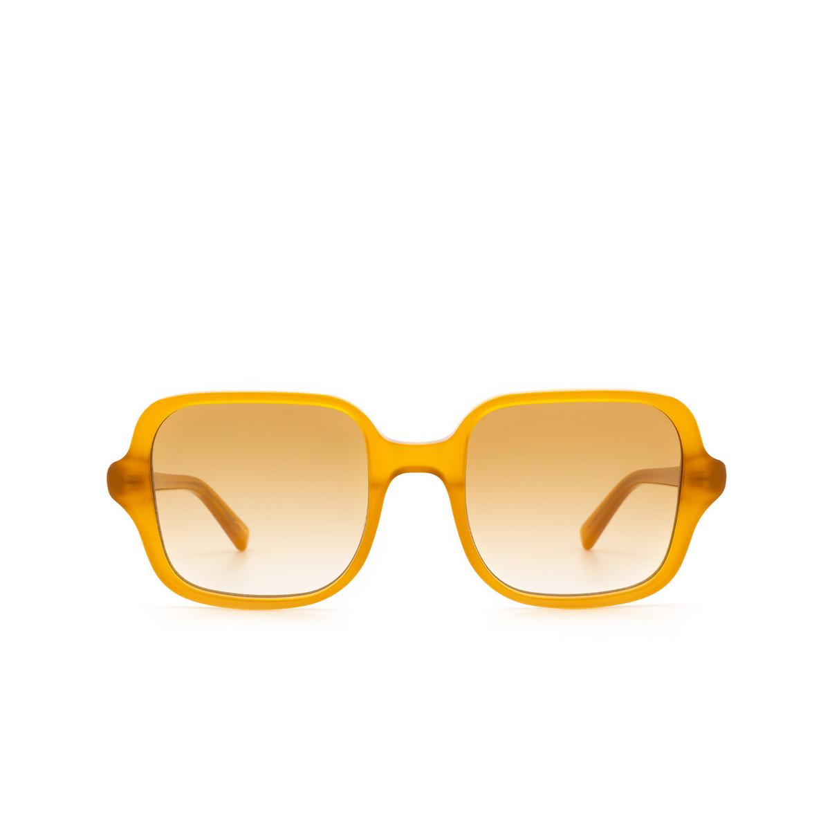 Chimi® Square Sunglasses: Voyage Square color Honey - front view.