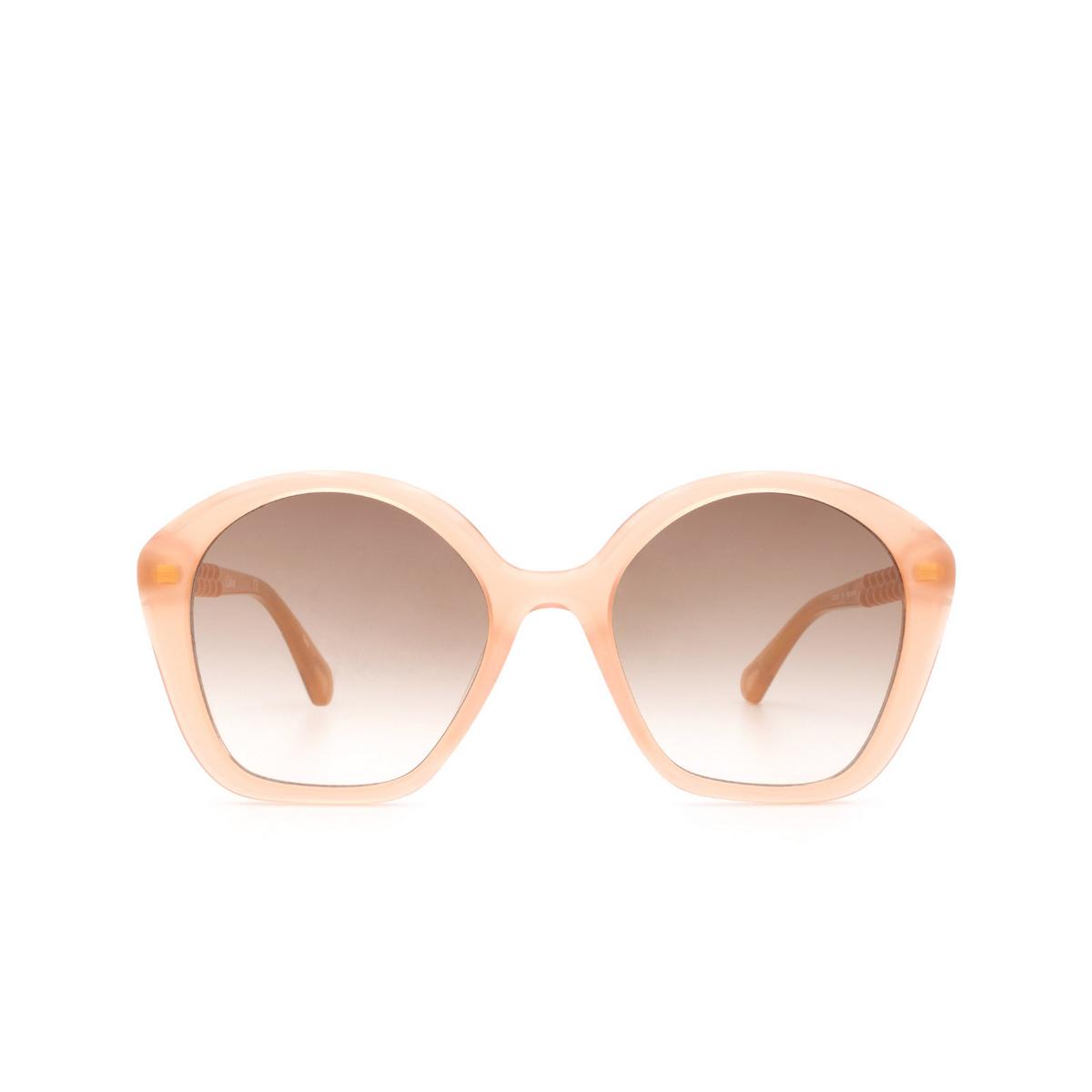 Chloé ® Irregular Sunglasses: CC0001S color Nude 001.