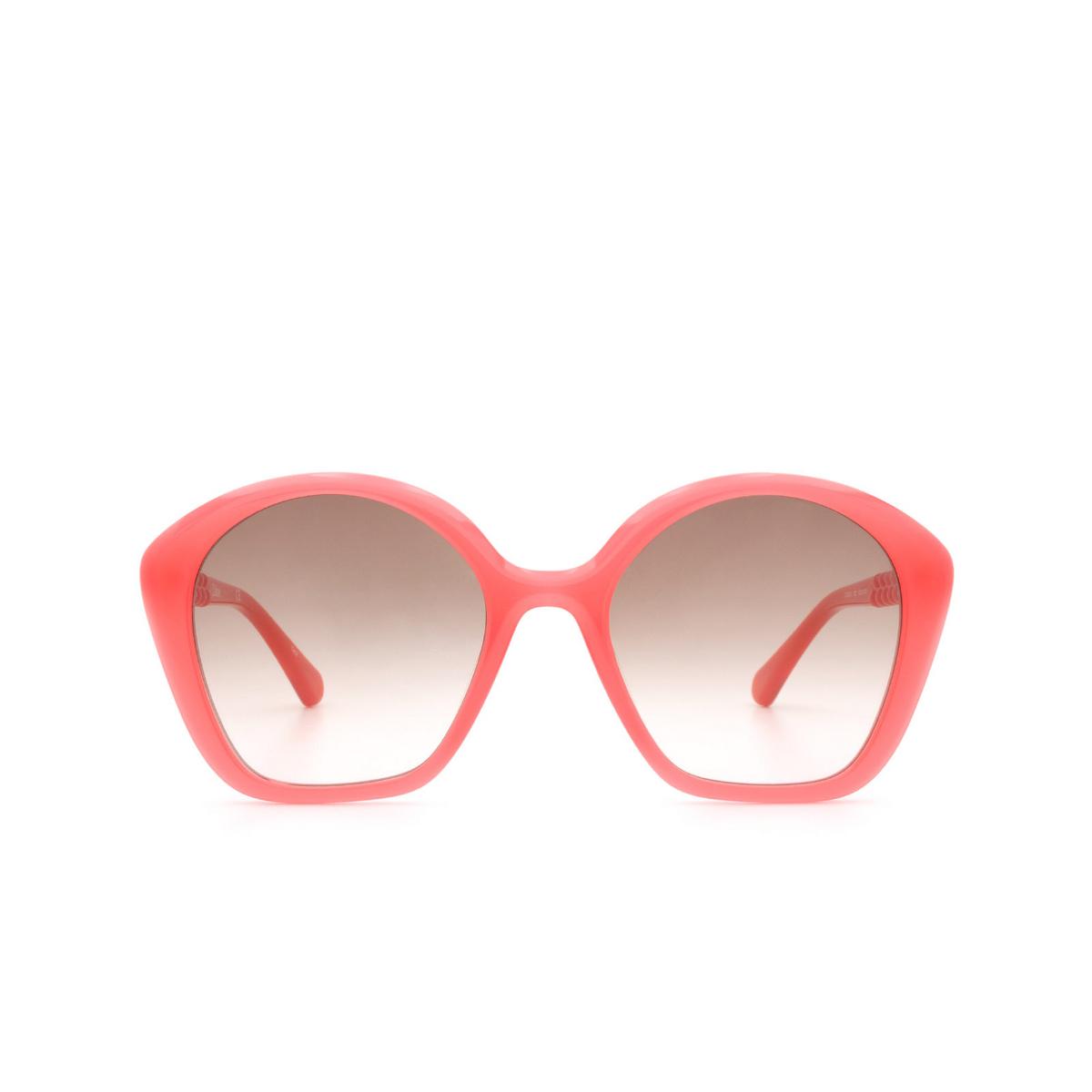 Chloé ® Irregular Sunglasses: CC0001S color Pink 002.