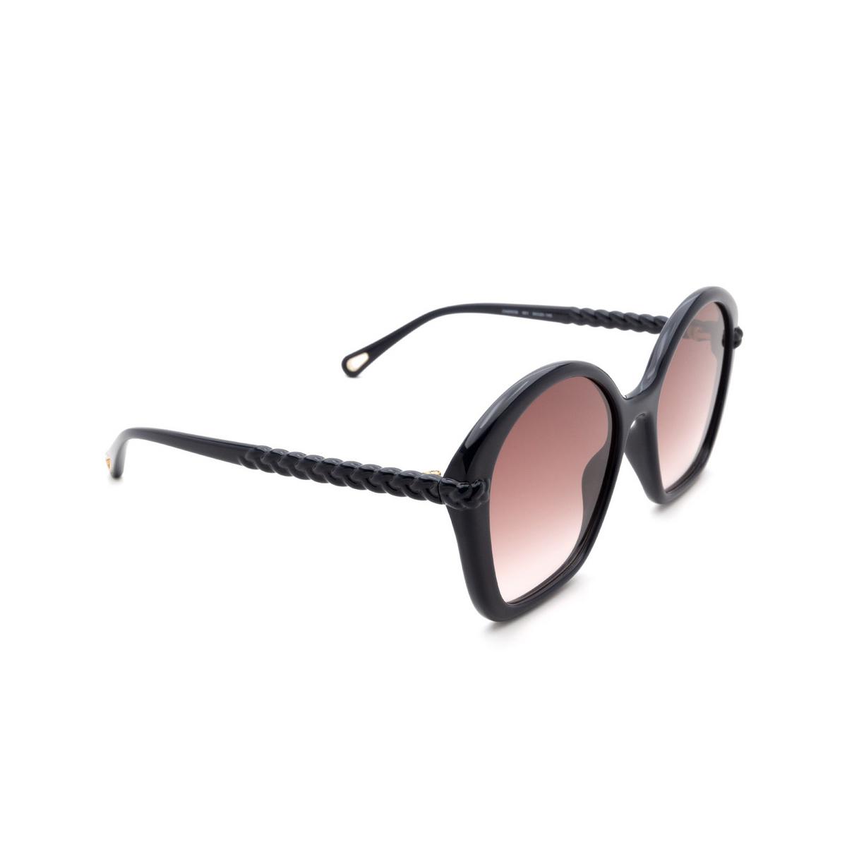 Chloé ® Irregular Sunglasses: CH0003S color Blue 001.