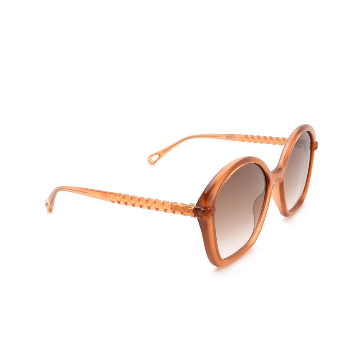 Chloé ® Irregular Sunglasses: CH0003S color Pink 002.