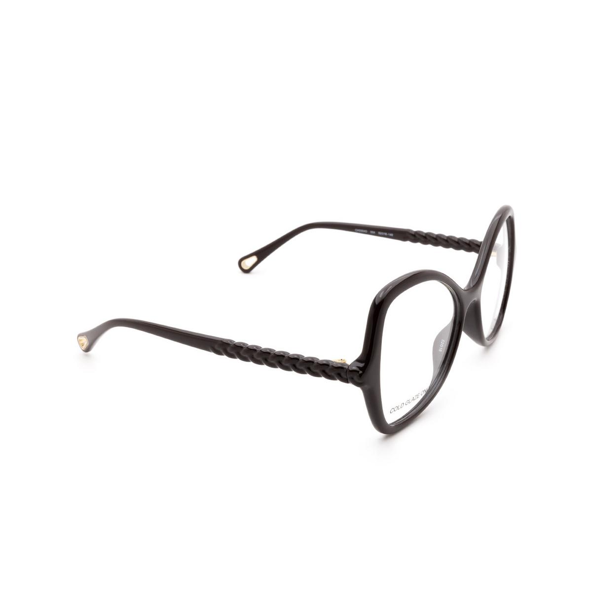 Chloé ® Butterfly Eyeglasses: CH0004O color Brown 004.