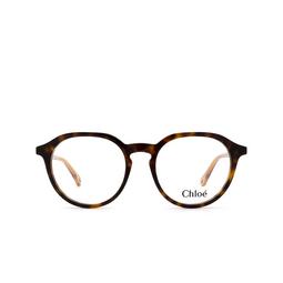 Chloé ® Eyeglasses: CH0012O color Havana 008.
