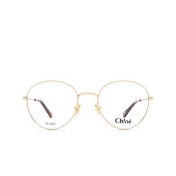 Chloé ® Eyeglasses: CH0021O color Gold 001.
