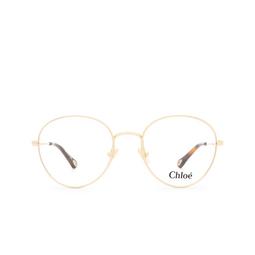 Chloé ® Eyeglasses: CH0021O color Gold 004.