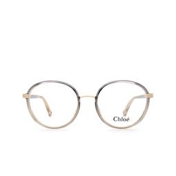 Chloé ® Eyeglasses: CH0033O color Grey 002.