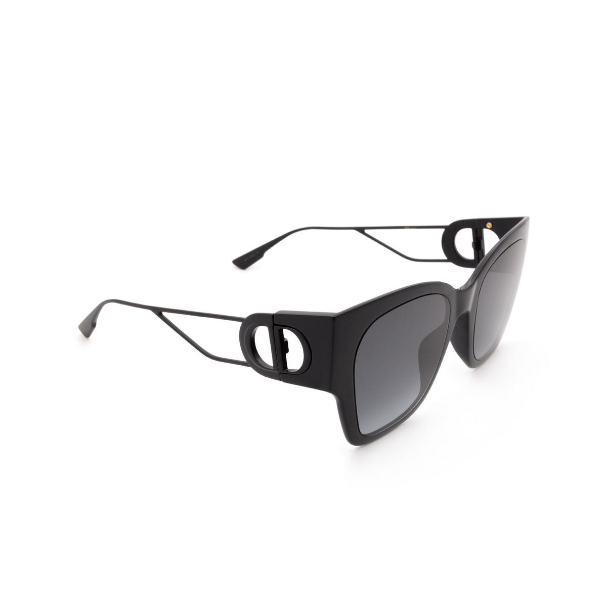 Dior® Square Sunglasses: 30MONTAIGNE1 color Black 807/1I.