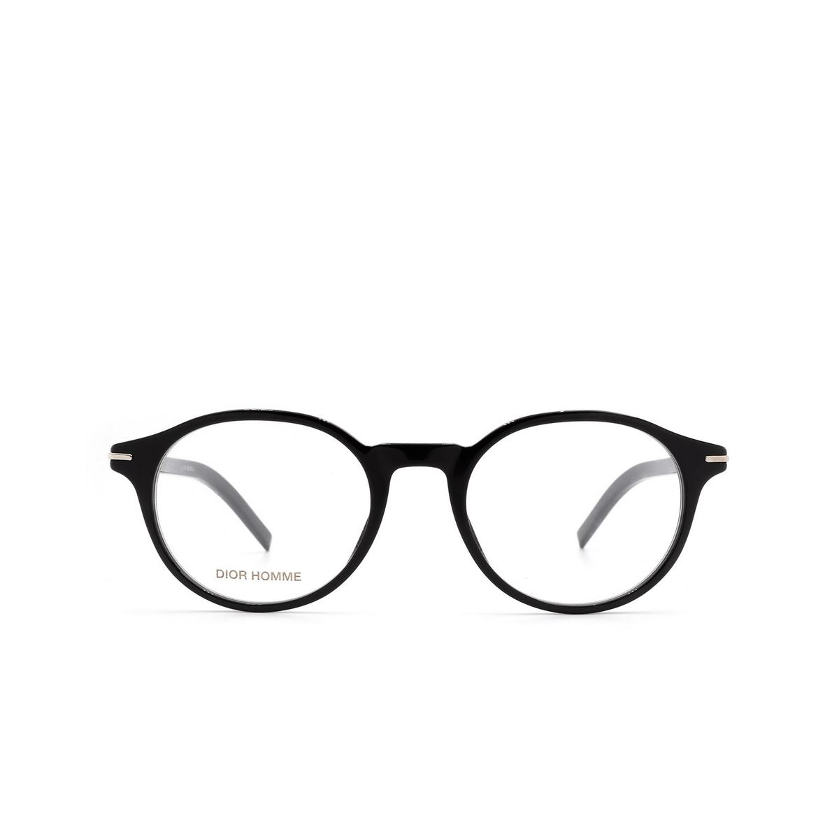 Dior® Round Eyeglasses: BLACKTIE264 color Black 807.