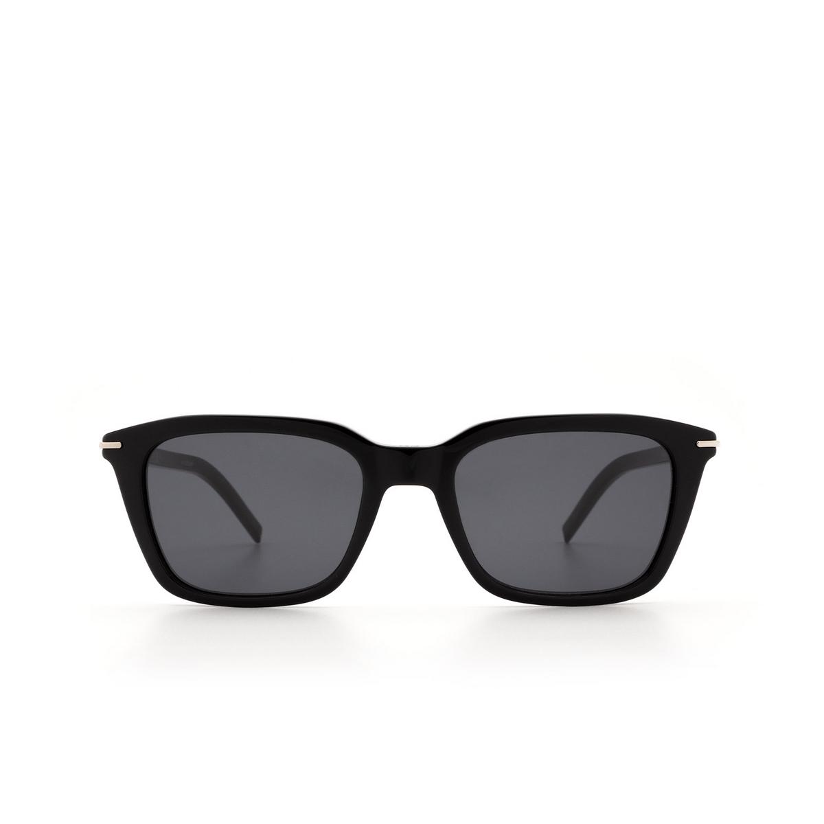 Dior® Square Sunglasses: BLACKTIE266S color Black 807/IR.