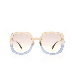 Dior® Sunglasses: DIORATTITUDE1 color Brown Blue 3LG/VC.