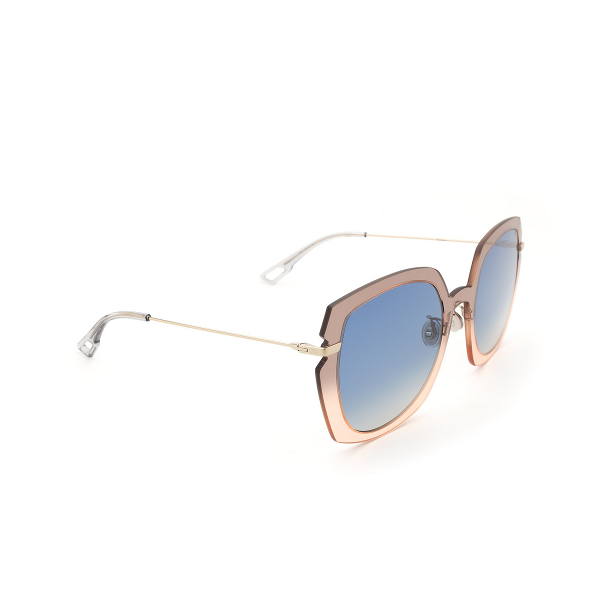 Dior® Square Sunglasses: DIORATTITUDE1 color Grey Pink 7HH/84.