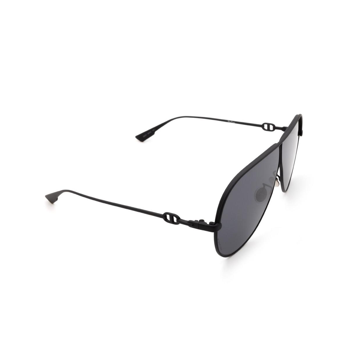 Dior® Aviator Sunglasses: Diorcamp color Matte Black 003/2K.