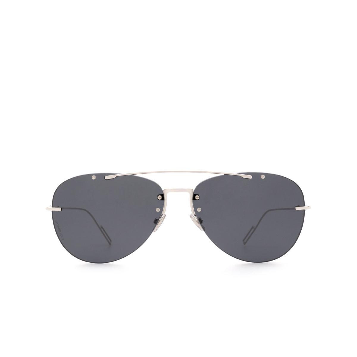 Dior® Aviator Sunglasses: DIORCHROMA1F color Palladium 010/2K - front view.