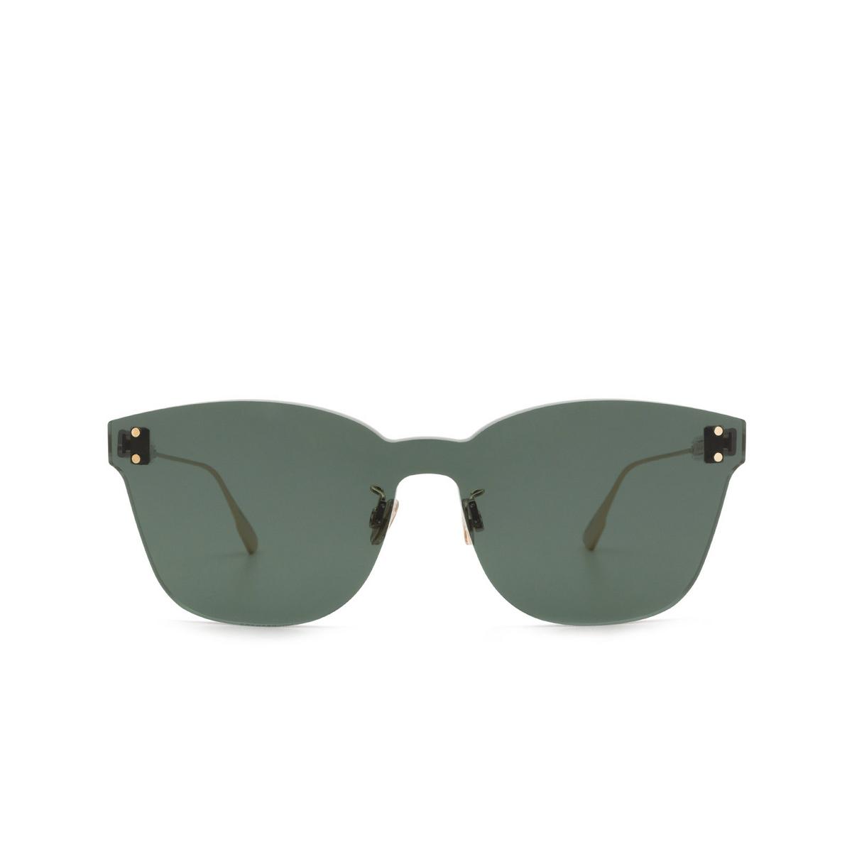 Dior® Mask Sunglasses: DIORCOLORQUAKE2 color Green 1ED/QT - front view.