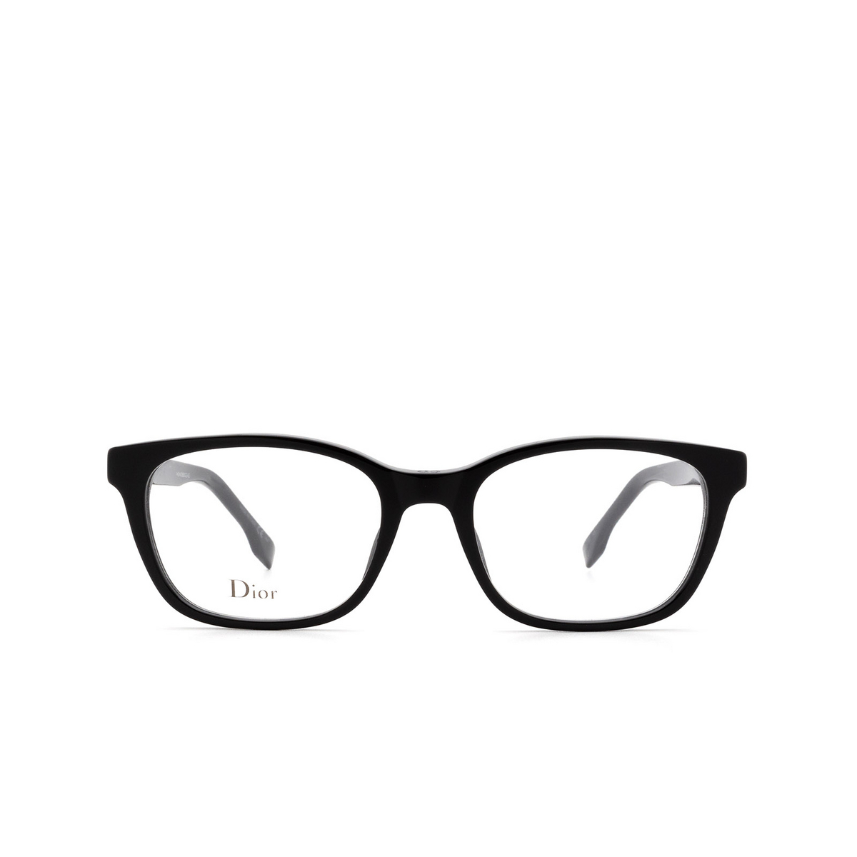Dior® Butterfly Eyeglasses: DIORETOILE2 color Black 807 - front view.