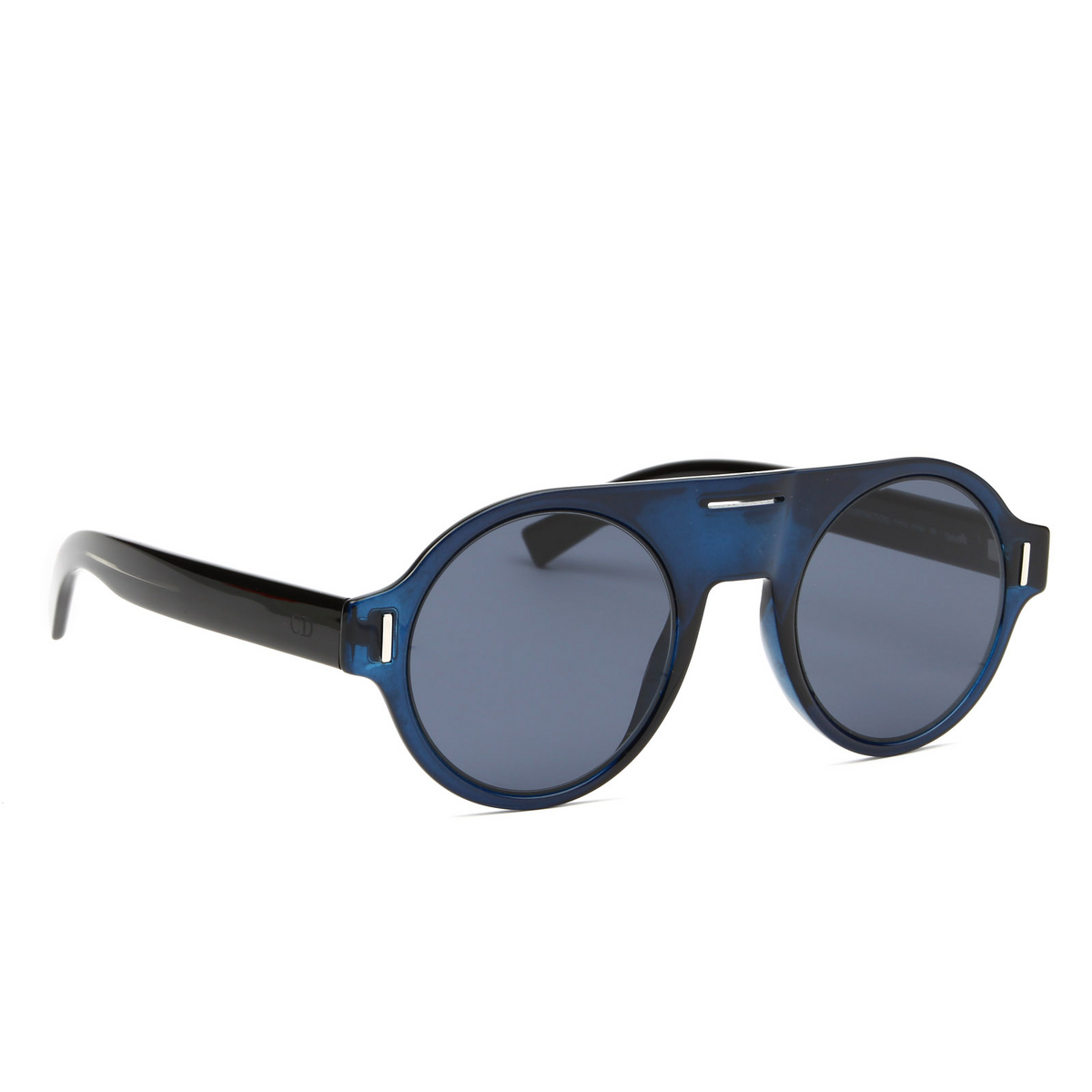 Dior® Round Sunglasses: DIORFRACTION2 color Blue PJP/A9.