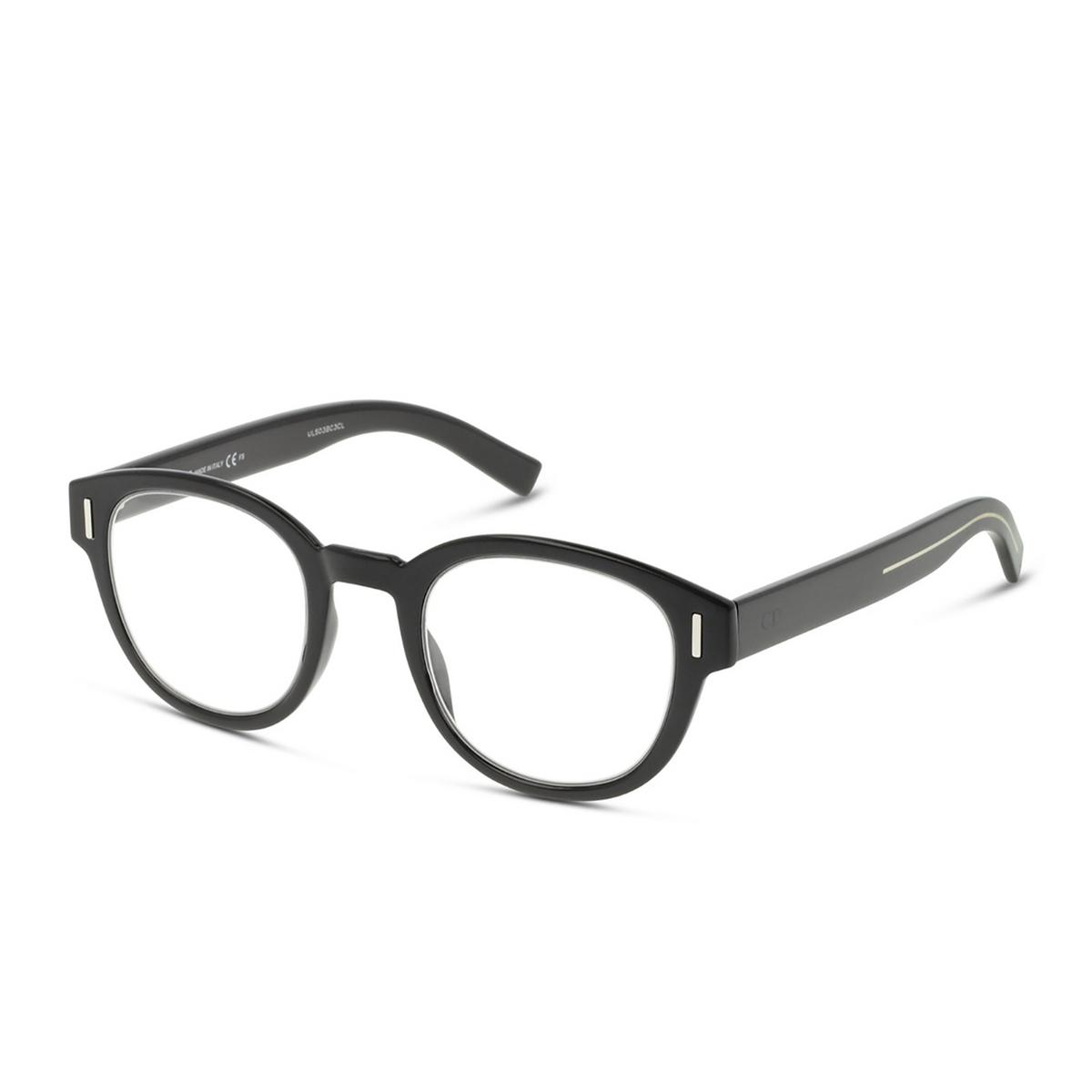 Dior® Round Eyeglasses: DIORFRACTIONO3 color Black 807.