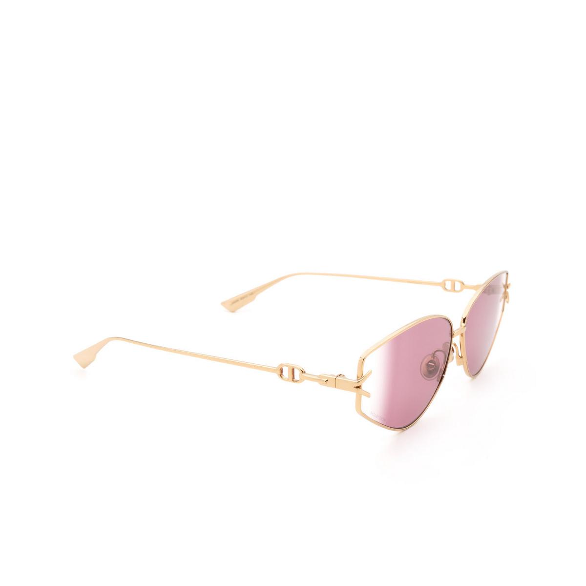 Dior® Cat-eye Sunglasses: DIORGIPSY2 color Rose Gold 000/9R.