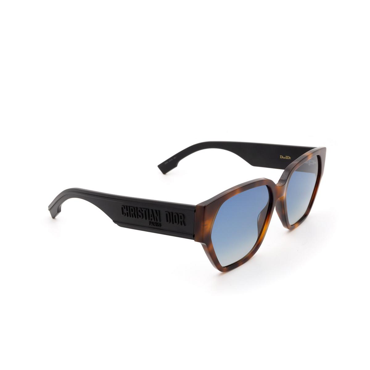 Dior® Irregular Sunglasses: DIORID1 color Dark Havana 086/84.