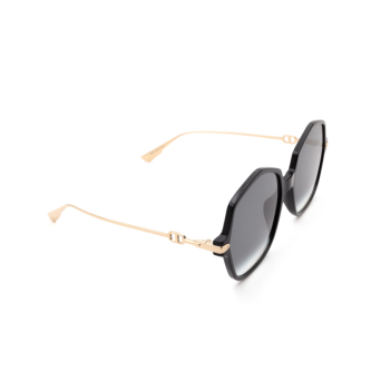Dior® Butterfly Sunglasses: DIORLINK2 color Black Gold 2M2/9O.